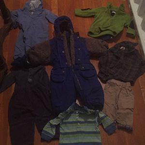 Bundle baby boys clothes